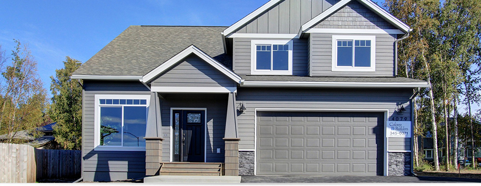 Chapelle 4 bedroom custom home by Colony Builders in Anchorage, AK